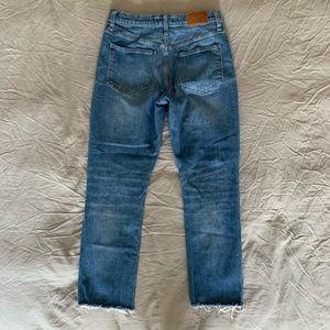Madewell Jeans - Madewell High Rise Slim Crop Boyjean 26/27/28